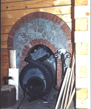 Печь бренеран в интерьере фото